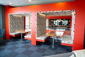 Custom Millwork Wood Bar