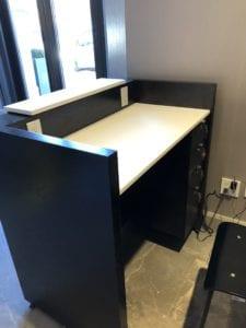 custom millwork architectural desk