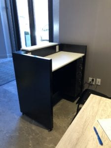 custom millwork architectural desk