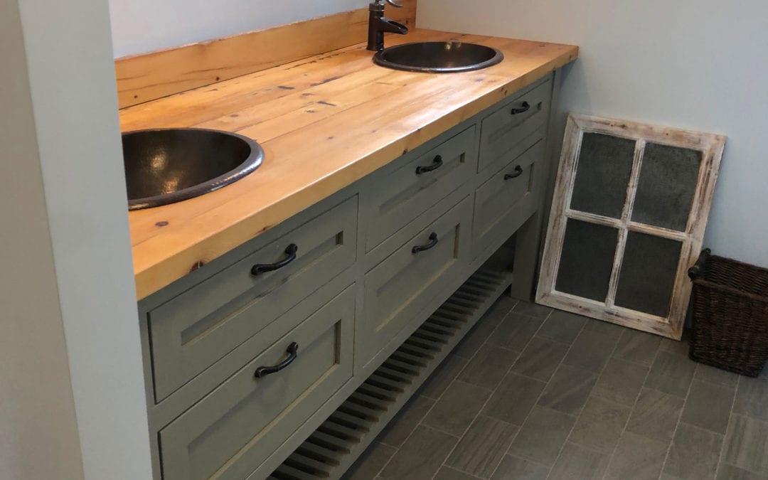 Residential Custom Wood Vanities