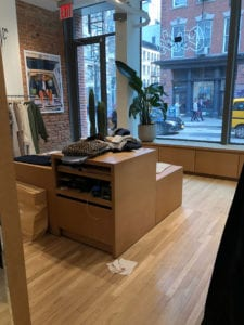 cords retail store soho new york city